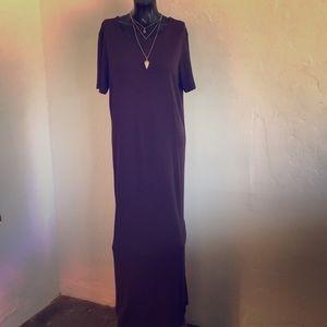 Talbots Brown Maxi Dress